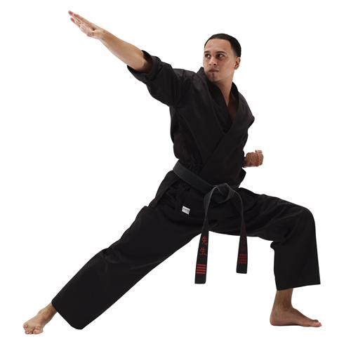 Macho Black Student Karate Uniform
